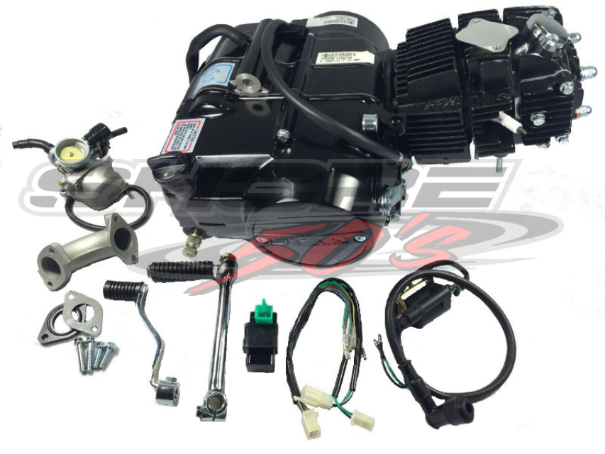 lifan 125cc manual clutch engine with accessories, Wiring diagram