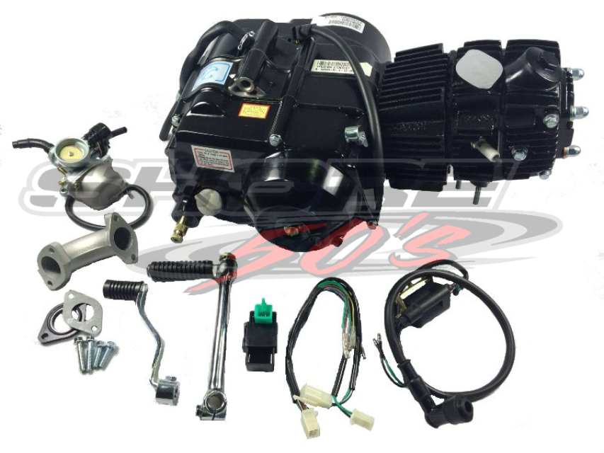 lifan 110cc auto clutch engine with accessories TaoTao 110Cc Wiring-Diagram