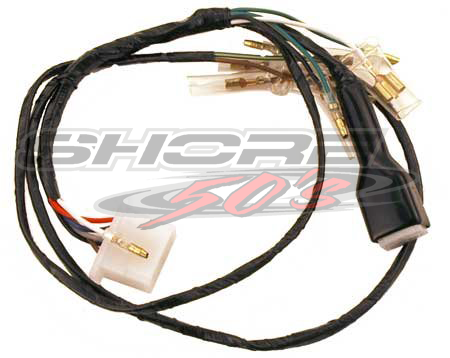Awesome Wiring Harness Z50A K2 Wiring Digital Resources Hetepmognl