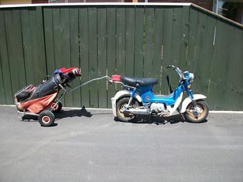 Shore 50's minibikes we are restoring to sell - Shore 50's